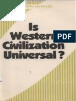 English is Western Civilization Universal