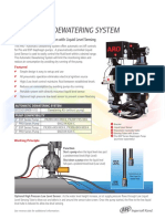 AUTOMATIC DEWATERING SYSTEM