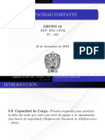 Capacidad portante del suelo (teorias) UNIVERSIDAD NACIONAL DE SAN CRISTOBAL DE HUAMANGA.