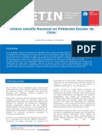 Boletin 2 Octavo Estudio Nacional en Población Escolar de Chile