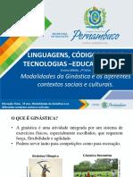 MODALIDADES DA GINÁSTICA E OS DIFERENTES CONTEXTOS SOCIAIS E CULTURAIS.ppt