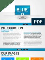 Blue d Presentation