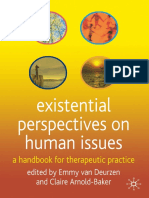 Emmy van Deurzen, Claire Arnold-Baker (eds.) - Existential Perspectives on Human Issues_ A Handbook for Therapeutic Practice-Macmillan Education UK (2005)