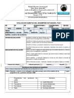 Evaluación PUD 1 de 2º