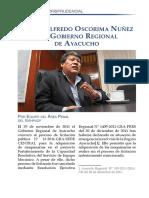 Comentario jurisprudencial sobre el caso Wilfredo Oscorima Núñez y el Gobierno Regional de Ayacucho