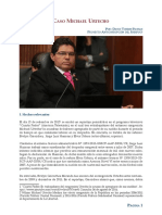 Crónica judicial y comentario académico del caso Michael Urtecho