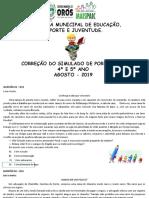 CORREÇÃO DO SIMULADO AGOSTO LP.pptx