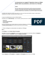 Cómo Crear Un Folleto Tríptico en Adobe InDesign
