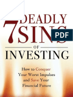 The Seven Deadly Sins Investing