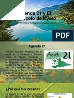 AGENDA 21 Y EL TRATADO DE KYOTO