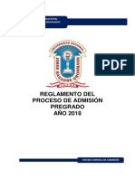 ReglamentoDeAdmisionPreGrado