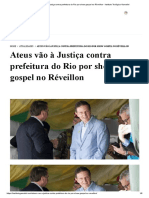 Ateus vão à Justiça contra prefeitura do Rio por show gospel no Réveillon - Instituto Teológico Gamaliel.pdf