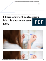 Clínica abrirá 50 centros para falar de aborto em escolas dos EUA - Instituto Teológico Gamaliel.pdf