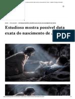 Estudioso mostra possível data exata do nascimento de Jesus - Instituto Teológico Gamaliel.pdf