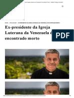 Ex-presidente da Igreja Luterana da Venezuela é encontrado morto - Instituto Teológico Gamaliel.pdf