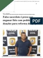 Falso sacerdote é preso por enganar fiéis com pedido de doações para reforma de igreja - Instituto Teológico Gamaliel.pdf