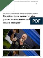 """Ex-satanista se converte, vira pastor e conta testemunho_ """"Eu odiava meu pai"""" - Instituto Teológico Gamaliel.pdf"""