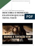 DESCUBRA O MOMENTO EXATO EM QUE O DIABO TENTA VOCÊ! - Instituto Teológico Gamaliel.pdf