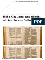 Bíblia King James terá primeira edição exibida na Arábia Saudita - Instituto Teológico Gamaliel.pdf