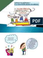 Principios   Filosóficos y finalidades de la Educación Básica en México