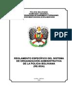 REGLAMENTO ESPECÍFICO (RE-SOA)