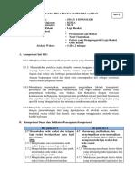RPP 3 KD 3.6 & 3.7 LAJU REAKSI - Orde Reaksi