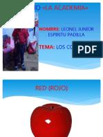 Diapositiva Los Colores