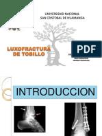 2. LUXOFRACTURA DE TOBILLO