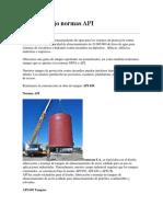NORMAS API EN CONSTRUCCION DE TANQUES