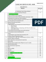 Compulsory Documents on Site Hse Cidb