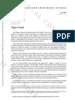 DCMkt-CP-Tiger Tread, Harvard Business School.docx