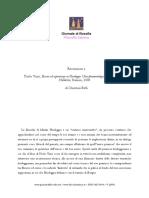 Paolo Vinci Essere Ed Esperienza in Heidegger. Una Fenomenologia Possibile Tra Hegel e Hölderlin Stamen 2008