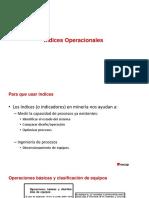 indices operacionales (I O)