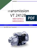 TRANSMISION VOLVO FM400