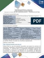 Guía Para El Desarrollo Del Componente Práctico – Transferencia de Masa 1 Uno
