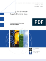 Energy and Mining Sector Board Paper No 20