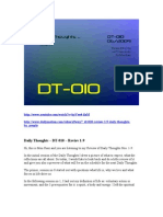 DT-010 - Review 1-9 - Daily Thoughts