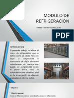 MODULO DE REFRIGERACION