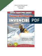 Argumento de Sangre de Campeón - Invencible de Carlos Cuauhtémoc Sánchez