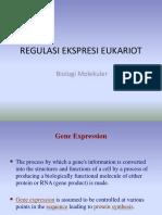 Regulasi Transkripsi Eukariot S1 Biologi Molekuler