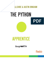 Robert Smallshire, Austin Bingham - The Python Apprentice_ a Practical and Thorough Introduction to the Python Programming Language-Packt Publishing (2017)