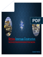 Company Profile PT. SIC- Construction