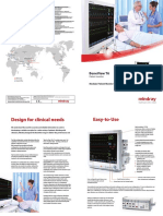 Mindray Patient Monitor BeneView T6 Brochure