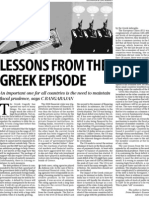 Greece Lessons