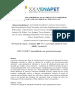 EXPANSÃO URBANA E OS IMPACTOS SOCIOAMBIENTAIS NA UNIDADE DE CONSERVAÇÃO (UCS) DA SABIAGUABA, FORTALEZA-CE