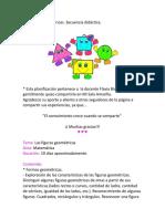 Secuencia Didactica- Las Figuras Geometricas