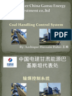 Coal Handling Control System
