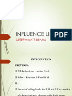 Influence Lines