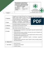 EP 2.3.7.1 SOP Pengarahan Oleh Kepala Puskesmas Maupun Oleh Penanggung Jawab Program Dalam Pelaksanaan Tugas Dan Tanggung Jawab