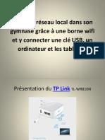 3 Pas à pas de la configuration d'un TP Link avec ou sans connexion à internet